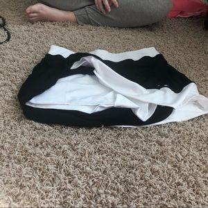 Slazenger Skirts - Slazenger Black & White Tennis Skirt, L